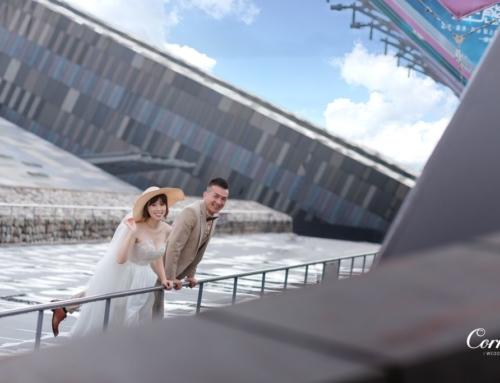 婚紗外拍-設置紀念館 – 逗趣新人外拍篇