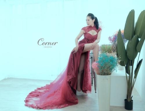 婚紗禮服-美人名冊-「花飄李香君」